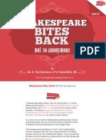 Shakespeare Bites Back Book
