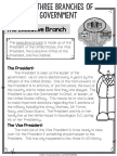 executive branch article