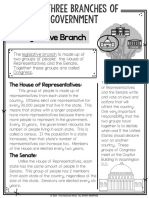 legislative branch article