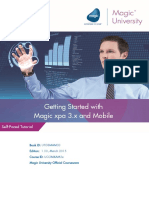 Getting Started With Magic Xpa 3.x and Mobile