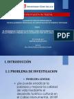 POWERPOINT SOBRE TURISMO Y ERRADICACION DE LA POBREZA EN CALLAO MONUMENTAL 2017