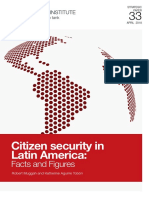 Citizen Security in Latin America Facts and Figures