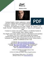 Dossier cantante chileno