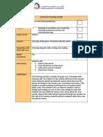 science listening checklist