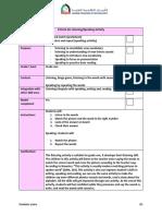 checklist for effective listening - speaking activity