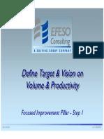 1.0 Define Target Vision