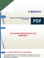 Acciones Prevencion y de Respuesta