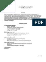 Assessing+Technology+Risks