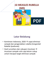 Imunisasi Measles Rubella (Mr)