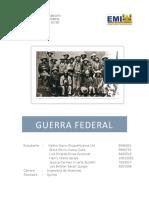 Guerra Federal