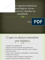 Didática e Docência - 2018.1