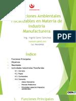 Fiscalización Ambiental en Industria