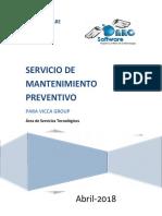Ps-1495 Mantenimiento Preventivo Vicca