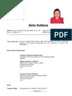 Airin Sultana CV.doc