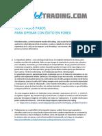 7 PASOS PARA OPERAR CON ÉXITO EN FOREX (1)