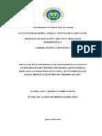 Universidad Central Del Ecuador Tesis Final