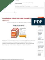 Como Elaborar El Amarre de Cifras Contables-fiscales Con El SAT – ContadorMx