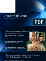 A Morte de Jesus - Catequese Adultos