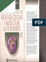 Fundamentos de Biologia Celular y Molecular de Robertis