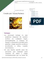 Ventajas y Desventajas de Los Discos Virtuales