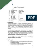 Silabo Qumica General Grupo A