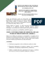Instituto de Medicina Del Los Pueblos Originarios de Mexico y Peru