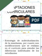FORMACION LECTO ESCRITURA Ooadaptaciones Curricularesoo