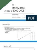 Sensores Automotriz Mazda Allegro 2000 2005