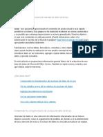 Información Sobre La Estructura de Una Base de Datos de Access