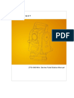 ZTS-360 Mini Series Total Station User Manual