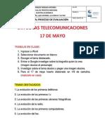 Dia de Las Telecomunicaciones Clase de Informatica
