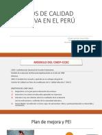Modelo Sacred i Tac i on Peru