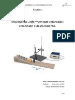 Relatório MRUR (Catarina)