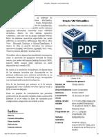 VirtualBox - Wikipedia, La Enciclopedia Libre