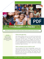 Child Protection Advocacy PM