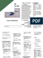 Clases de Conjuntos Matematicas UNI