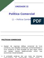 Politica Comercial 1Politica Cambial
