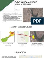Analisis de Distrito de QORIWATA