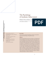 The Psychology of Academic Achievement (1)