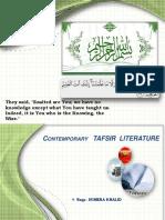 contemporarytafsirliterature-140207051113-phpapp01