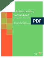 Administración y Contabilidad Para Mecatrónica U3