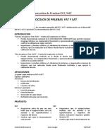 Protocolos de Pruebas Fat y Sat