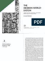 Wallerstein the Modern World System