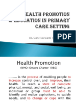 Health Promotion (Eng)