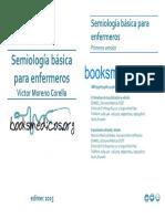 Semiologia Basica Para Enfermeros