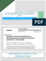 Consenso Europeo Sobre El Tratamiento Del Síndrome De
