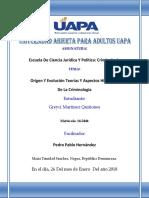 UNIDAD I - Origen Y Evolución Teorías Y Aspectos Históricos de La Criminología