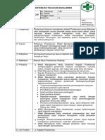 Documen.tips 3123 Sop Pertemuan Tinjauan Manajemen
