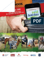 Tocal Field Days Guide Book 2018