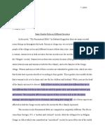 jennifer lopez - literary theory essay